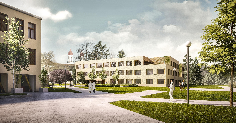 Luzerner Psychiatrie kürt Siegerprojekt «Ersatzneubau ...